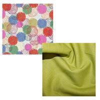 Marisol Dotted Floral Ivory FQ Pack (2pcs)