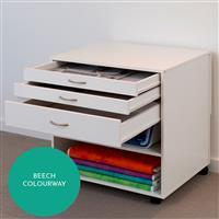 Horn Modular 3 Draw Cabinet Beech