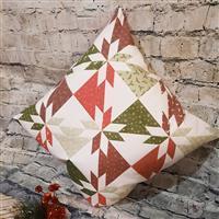 Christmas Hunters Star Cushion Kit: Instructions & Fabric Panel