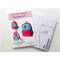 Rebecca Alexander Frost Adventurer Backpack Pattern