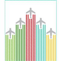 "Moda On The Go Lets Fly Quilt Kit 155x183cm (61x72"")"