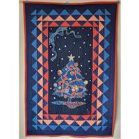 Noren Japanese Christmas Tree Panel 0.5m