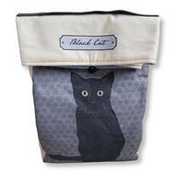 October Cat of the Month Lunch Bag Kit: Instructions & Fabric Panel