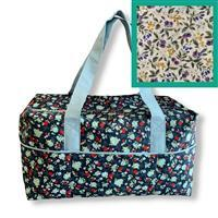 Country Floral Travel Bag Kit: Instructions & Fabric (2m)