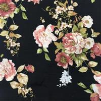 Country Roses Viscose Fabric Bundle (4.5m). Save £10