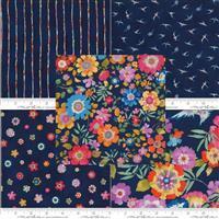 Moda Lulu Blue Fabric Bundle (2.5m)