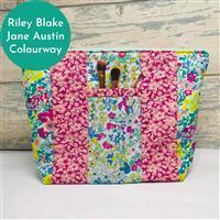 Living in Loveliness Yasmeen Cosmetic Bag - Riley Blake Jane Austin
