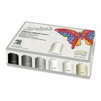 Madeira Aerolock Miniking Box Overlock & Sewing Thread 24 spools 6 colours x 1200m