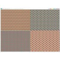 Elf & Santa Fat Quarters Fabric Panel (140 x 107cm)