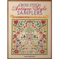 Cross Stitch Antique Style Samplers Book