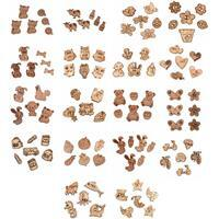 Early Bird Special - Mega Bundle 18 Packs - 105 Wooden Buttons