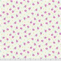 Tula Pink Curiouser And Curiouser in Baby Buds Sugar Fabric 0.5m