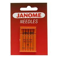 Janome Red Tipped Needles Size 14/90 (Pack of 5)
