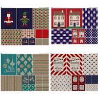 Large Christmas Bag Fabric Panel Mega Bundle. Save £5!