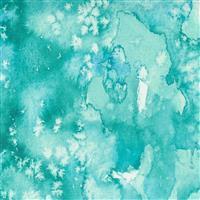 Moda Starflower Christmas Aqua Frost Fabric 0.5m