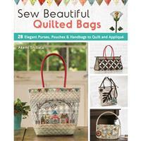 Sew Beautiful Quilted Bags Book by Akemi Shibata