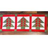 Living in Loveliness Christmas Table Runner Kit (top and binding fabric)