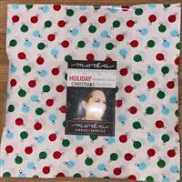 """Moda Holiday Christmas 10"""" Charm Pack of 42 Pieces"""