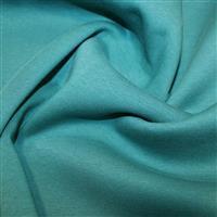 Teal Sweatshirting Fabric 0.5m