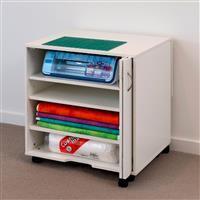 Horn Modular Cabinet 3 Shelves White