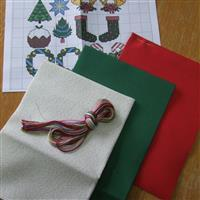 Cross Stitch Guild Christmas Aida Fabrics -  Exclusive to Sewing Street
