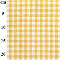 Yarn Dyed Cotton Gingham Yellow 0.5m