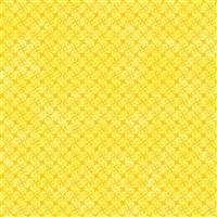 Hannah Basic Flower Nets On Yellow Fabric 0.5m
