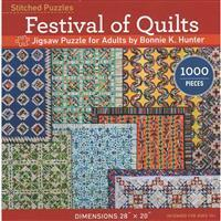 Festival of Quilts Jigsaw Puzzle by Bonnie K Hunter. Save £5