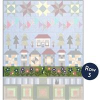 Village Street - Row a Month: Row 3, Flower Bed (includes Thread)