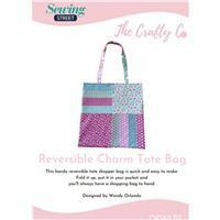 The Crafty Co Charm Tote Bag Instructions
