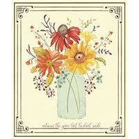 Riley Blake Adel In Autumn Flower Panel 0.9m