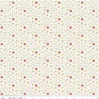 Riley Blake Joy In The Journey in Cream Petal Fabric 0.5m