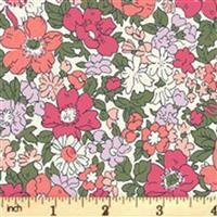 Liberty Cottage Garden Collection Red Cream Cosmos Meadow FQ