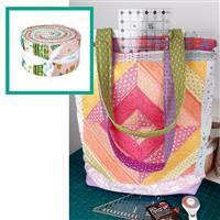 Riley Blake Stardust Ruler Holder Bag Kit: Instructions & Design Roll