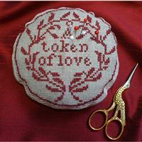 Cross Stitch Guild Token of Love Pin Cushion Kit