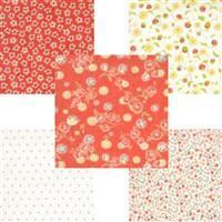 Moda Strawberries & Rhubarb Red Fabric Bundle (2.5m)