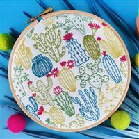 Oh Sew Bootiful Cacti Embroidery Kit