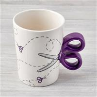 Scissor Design Mug