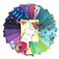 Tula Pink Curiouser And Curiouser Daydream Fat Quarter Pack 24 Pieces