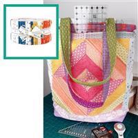 Moda Words to Live By Ruler Holder Bag Kit: Instructions & Design Roll