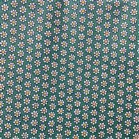 Liberty Carnaby Collection Daisy Dot Light Green Fabric 0.5m
