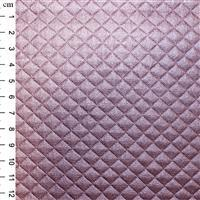 PU Quilted Fabric Rose 0.5m