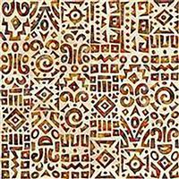 Dan Morris South West Reflections Bohemian Tribal Reflection Fabric 0.5m
