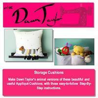 With Dawn Taylor Caterpillar & Dog Storage Cushion Instructions