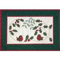 Village Fabrics Christmas Robins Kit