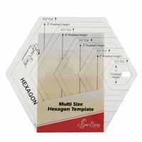 Template, Quilting, Hexagon