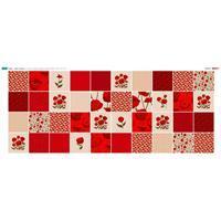 Poppy 40 Squares Fabric Panel (140 x 58cm)