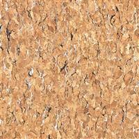 Cork Vinyl Black/White Grain Fabric 0.5m