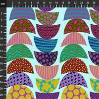 Anna Maria Horner Bright Eyes in Stacked Breakfast Fabric 0.5m