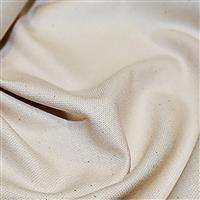 Cotton Canvas Fabric Cream 0.5m